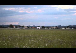 Globe Air Cessna Citation takeoff Flughafen Graz | OE-FHK