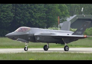 First Take Off Dutch F35 at Leeuwarden Air Base