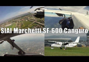 On board Jumper 1 | SIAI Marchetti SF-600 Canguro