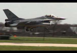 NATO Frisian Flag 2013 canceled F16's touch