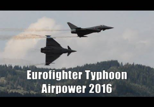 Airpower 2016 | Eurofighter Typhoon Display | Austrian Air Force
