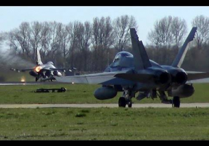 F18 Horner F16 Fighting Falcon – FRISIAN FLAG 2015