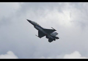 Rocket Style Take off Dutch F-16 Leeuwarden