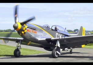TFC Mustang TF-51D 'Miss Velma' – Oostwold Airshow 2015