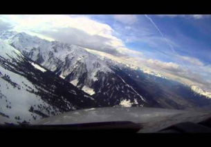Innsbruck Airport – Visual Approach