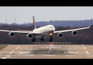 Crazy Crosswind Landings at Düsseldorf