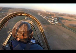 High speed low passes Yak-52 – Canopy view Lelystad