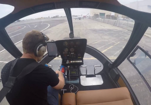 Helicopter Startup And Takeoff – Enstrom 280C