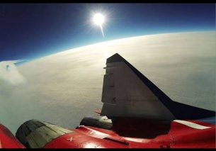 Mig-29 Edge of Space Flight