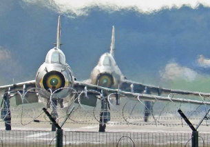"Impressive Swing Wing Polish Sukhoi SU-22 ""Fitter"""