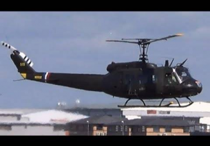 Bell 'Huey' UH1H Tail No 72-21509 G-UH1H – Take-off