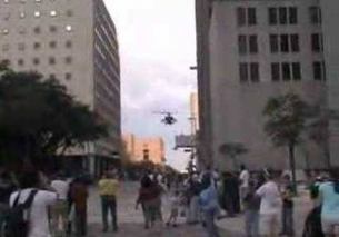 Apache flying through Skyscrapers