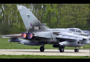 4x RAF Tornado GR4 Full AFTERBURNER