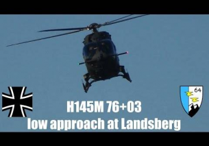 Airbus Helicopters H145M low approach