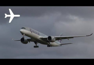 First Visit of Qatar airways a350 at London Heathrow