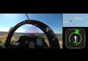 Gripen and g-force up to 9G!