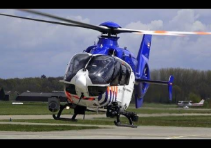2x Police Heli FLY-IN Dutch Kingsday 2016 – TEUGE Airport