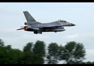 F16 Full AFTERBURNER Leeuwarden
