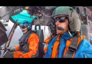 U.S. Coast Guard Helicopter Rescue Flight VLOG