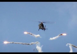 BAF Agusta A109 flares Heldair Show Maritiem – HD video