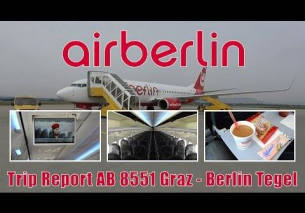 TRIP REPORT | Air Berlin AB8551 Graz – Berlin Tegel onboard 737