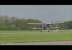Low pass Antonov AN-2T DM-SKL Teuge Airport