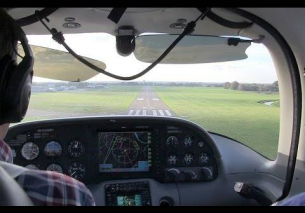 Canopy View – Flight Teuge to Flugplatz Rotenburg 2014