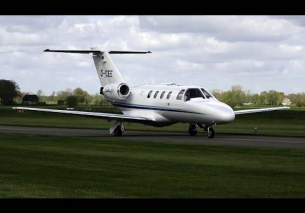 Cessna 525 CitationJet D-ICEE Teuge Airport