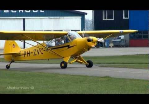 Taxi flight training Piper 1954 EHTE