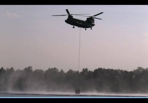 Chinook Fire Bucket Operation De Hoge Veluwe Hoenderloo