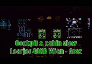 COCKPIT Video Learjet 40XR