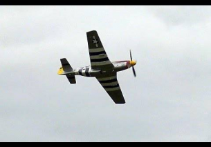 "Pure P-51 Mustang Whistle Sounds – ""Damn Yankee"""