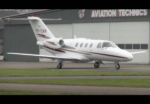 Flap test engine run Citation Jet1  EHTE