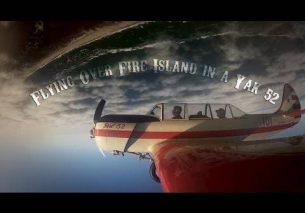 Flying Over Fire Island In A Yak 52