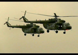 2x Mil Mi-17 Awesome Low Airshow 2014