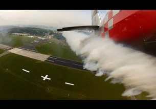 Onboard camera Extra 330SC Mark Jefferies Weeze Airshow 2013