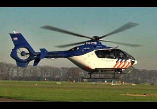 Low pass Police Eurocopter Teuge PH-PXE