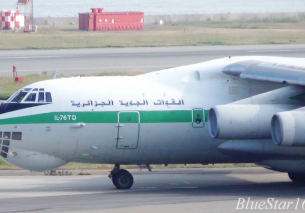 Great Sound! Algerian Air Force Ilyushin Il-76TD (7T-WIU) takeoff