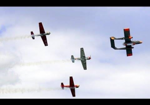 Bronco OV-10 – Dutch Thunder Yaks Formation – Oostwold Airshow 2015