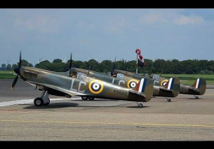 3x SPITFIRE Reaching For The Sky LELYSTAD