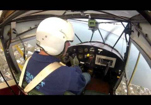 Around the patch in a 1947 Auster