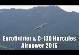 Airpower 2016 | Eurofighter Typhoon