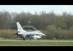 RNoAF F16 at RNLAF FWIT 2012 Leeuwarden – HD video