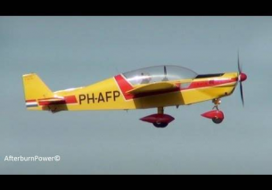 Emergency landing experimental PH-AFP Teuge EHTE 3-6-2013 – HD video
