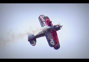 """Bad Ass"" Pitts S2B Special Aerobatics – Oostwold 2015"