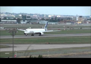 Airbus A350 XWB Rejected Takeoff Test