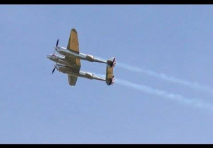 "Lockheed P-38 Lightning ""Twin-tailed Devil"" – Texel Airshow 2015"