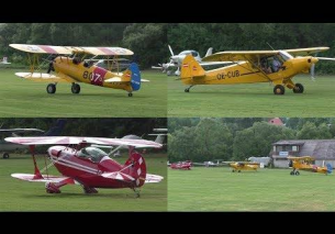 CLASSIC FORMATION Boeing Stearman, Piper Super Cub