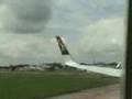 Boeing 737-700 Wing Tip Collides with Truck