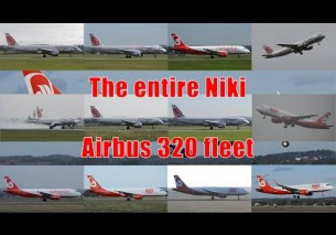 The entire Niki A320 fleet